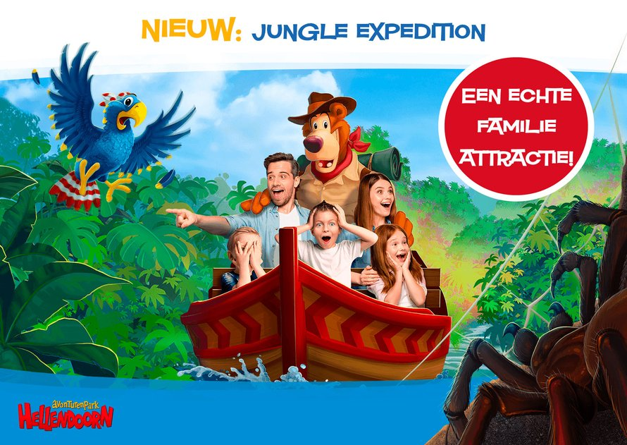 Jungle Expedition in Avonturenpark Hellendoorn